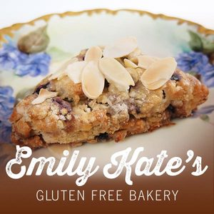 EmilyKate GLUTEN FREE Cherry Almond Scones (Qty - 6)
